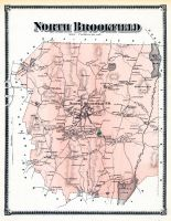 Brookfield North, Worcester County 1870