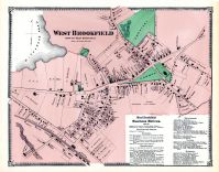 Brookfield West, Worcester County 1870