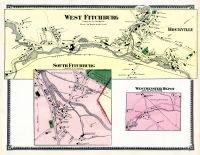 Fitchburg West, West Fitchburg, Rockville, Fitchburg South, Westminster Depot, Worcester County 1870