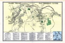 Globe Village, Southbridge Center, Sanders Dale, Worcester County 1870