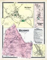 Mendon, Mendon Town, Northbridge Center, Rockdale, Worcester County 1870