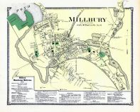 Millbury Town, Worcester County 1870