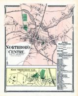 Northborough Center Town, Southborough Town, Worcester County 1870