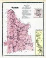 Oxford, Oxford North Town, North Oxford Town, Hodges Village, Worcester County 1870