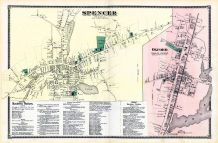 Spencer Town, Oxford Town, Worcester County 1870