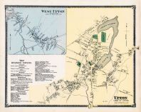Upton West Town, West Upton Town, Upton Town, Worcester County 1870