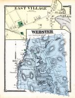 Webster, East Village, Village East, Worcester County 1870