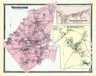 Westminster, Wachusett Village, Westminster Center, Worcester County 1870