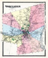 Worcester, Worcester County 1870