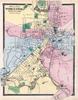 Worcester City, Worcester County 1870