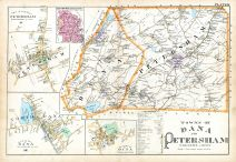Dana and Petersham Towns, Worcester County 1898