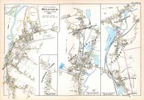 Milford Town 2, Northbridge Center, Grafton North, Farnumsville, Fisherville, Saundersville, Wilkinsonville 1, Worcester County 1898