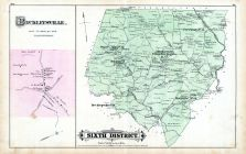 District 6, Beckleysville, Middletown, Freelands, Rayville, Freelands, Rockdale, Paper Mills, Baltimore County 1877