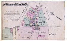 Pikesville P.O. - Partial, Baltimore County 1877