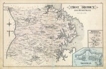 Anne Arundel County - District 1, Galesville, Owensville, West River, Baltimore and Anne Arundel County 1878
