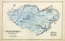 Anne Arundel County - District 5, William's Crossroads, Brooklyn, Timberneck, Baltimore and Anne Arundel County 1878