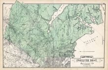 Baltimore County - District 12, West, Gardenville, Lavender, Back River, Patapsco River, Baltimore and Anne Arundel County 1878