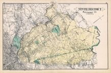 Baltimore County - District 9, Hampden Heights, Govanstown, Towsontown, Hampton, Lutherville, Baltimore and Anne Arundel County 1878