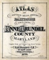 Title Page, Baltimore and Anne Arundel County 1878