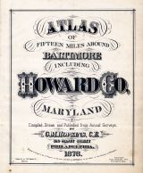 Title Page, Baltimore and Howard County 1878
