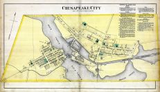Chesapeake City, Cecil County 1877