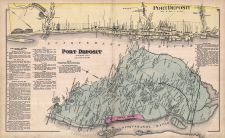 Port Deposit, Cecil County 1877