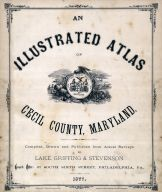 Title Page, Cecil County 1877
