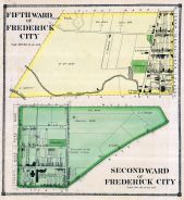 Frederick City 1 Wards 2 and 5, Frederick County 1873