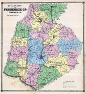 Frederick County Map, Frederick County 1873