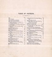 Table of Contents, Frederick County 1873