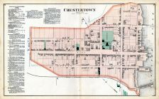 Chestertown, Kent and Queen Anne Counties 1877