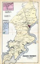 Massey's P.O., Georgetown, Chestertown - Fourth District, Kent and Queen Anne Counties 1877