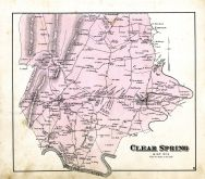 Clear Spring 1, Washington County 1877