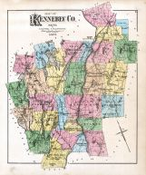 Kennebec County 1879 Maine Historical Atlas