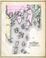 Boothbay, Maine State Atlas 1884