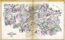 Timber Lands Map 3, Piscataquis County, Penobscott County, Maine State Atlas 1884