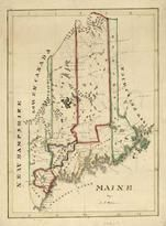 Maine State Map 182x, Maine State Map 182x
