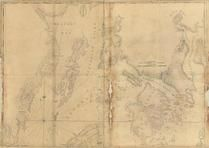 Penobscot Bay and Belfast Bay Chart 1776c