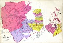 Index Map, Portland and South Portland Cities 1914
