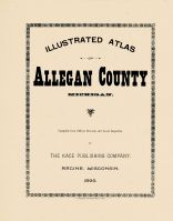 Title Page, Allegan County 1895