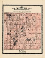 Wayland Township, Allegan County 1895