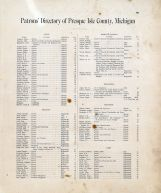 Patrons Directory 007, Alpena - Presque Isle - Montmorency Counties 1903