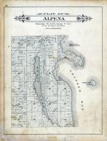 Alpena Township, Grass Island, Sulphur Island, Alpena - Presque Isle - Montmorency Counties 1903