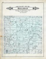 Hillman Township, Case Lake, Alpena - Presque Isle - Montmorency Counties 1903