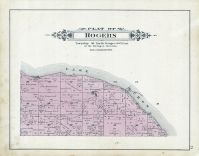 Rogers Township, Lake Huron, Alpena - Presque Isle - Montmorency Counties 1903