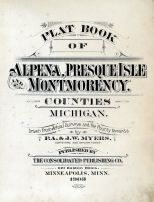 Title Page,final, Alpena - Presque Isle - Montmorency Counties 1903