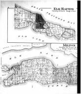 Elk Rapids, Milton, Torch Lake - Left, Antrim County 1897