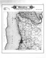 Helena Township, Torch Lake, Antrim County 1897
