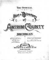 Title Page, Antrim County 1897