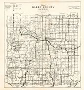 County Map, Barry County 1945